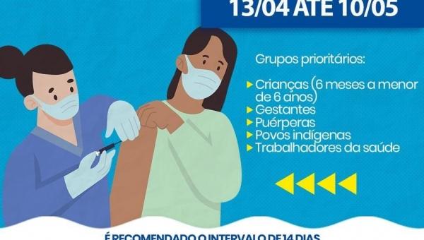 23° campanha nacional de Vacinação - influenza/2021