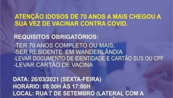 III DRIVE THRU  DE VACINAÇÃO COVID 19