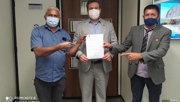 Prefeito Djalma Jr em Brasília garante que  recursos sejam destinados à Wanderlândia