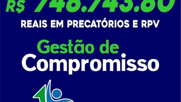Wanderlândia   Prefeitura Segue honrando pagamentos de RPV's e precatórios
